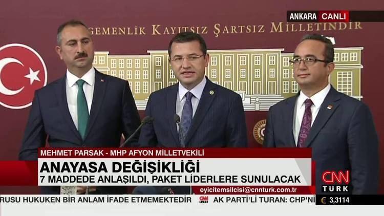 Mehmet Parsak Anayasa Komisyonu yesi Milletvekilimiz Mehmet Parsak Basn