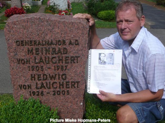 Meinrad von Lauchert Lauchert Meinrad von WW2 Gravestone
