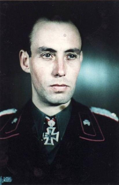 Meinrad von Lauchert Generalmajor Meinrad von Lauchert Kommandeur Panzer Regiment 15