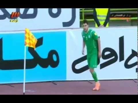 Mekan Saparow Mekan Saparow goal 62 Iran 31 Turkmenistan YouTube