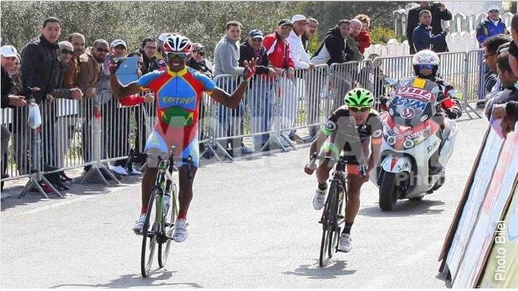Mekseb Debesay Eritrean Cyclist Mekseb Debesay Wins Tour Rwanda Stage 4