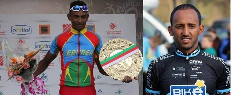 Mekseb Debesay Mekseb Debesay and Meron Amanuel in Tour of Qinghai Lake