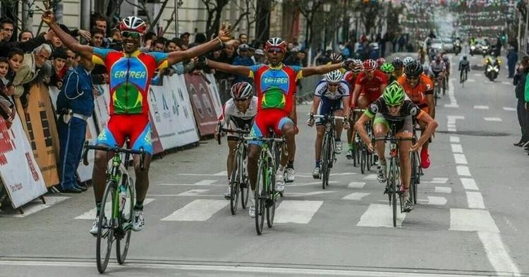 Mekseb Debesay Eritrean Cyclist Mekseb Debesay Wins 3rd Stage of Tour of Setif Madote