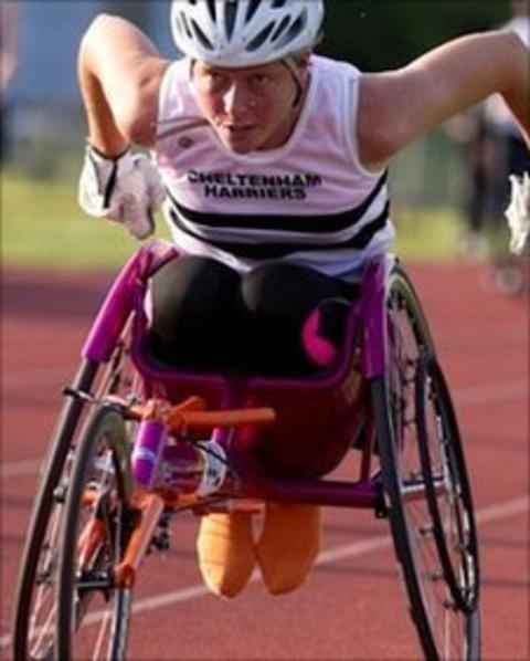 Mel Nicholls London 2012 Paralympics the target for Mel Nicholls BBC Sport