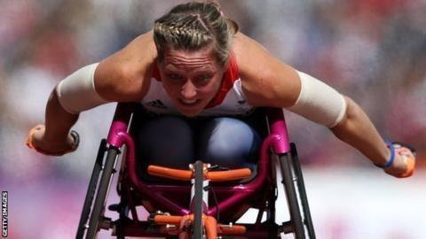 Mel Nicholls Mel Nicholls Paralympian shocked by 1500m world record BBC Sport