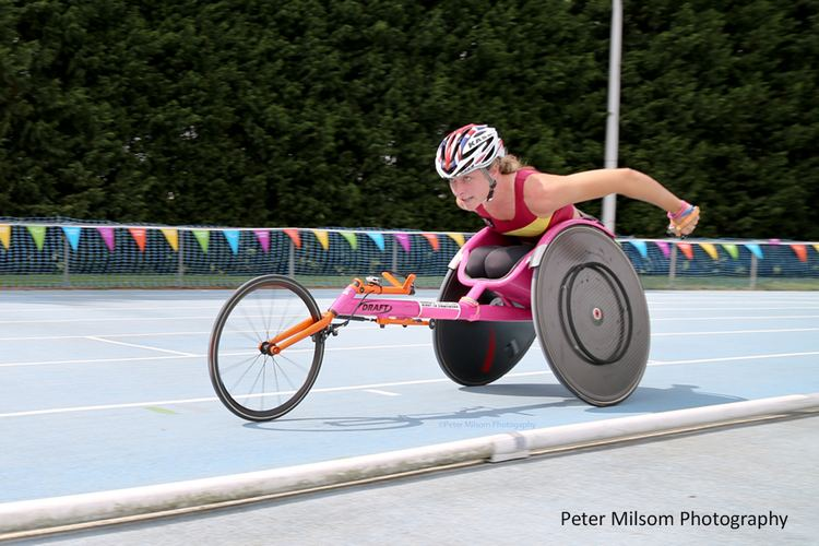 Mel Nicholls Rio 2016 Paralympics Wheelchair racer Mel Nicholls dreaming big