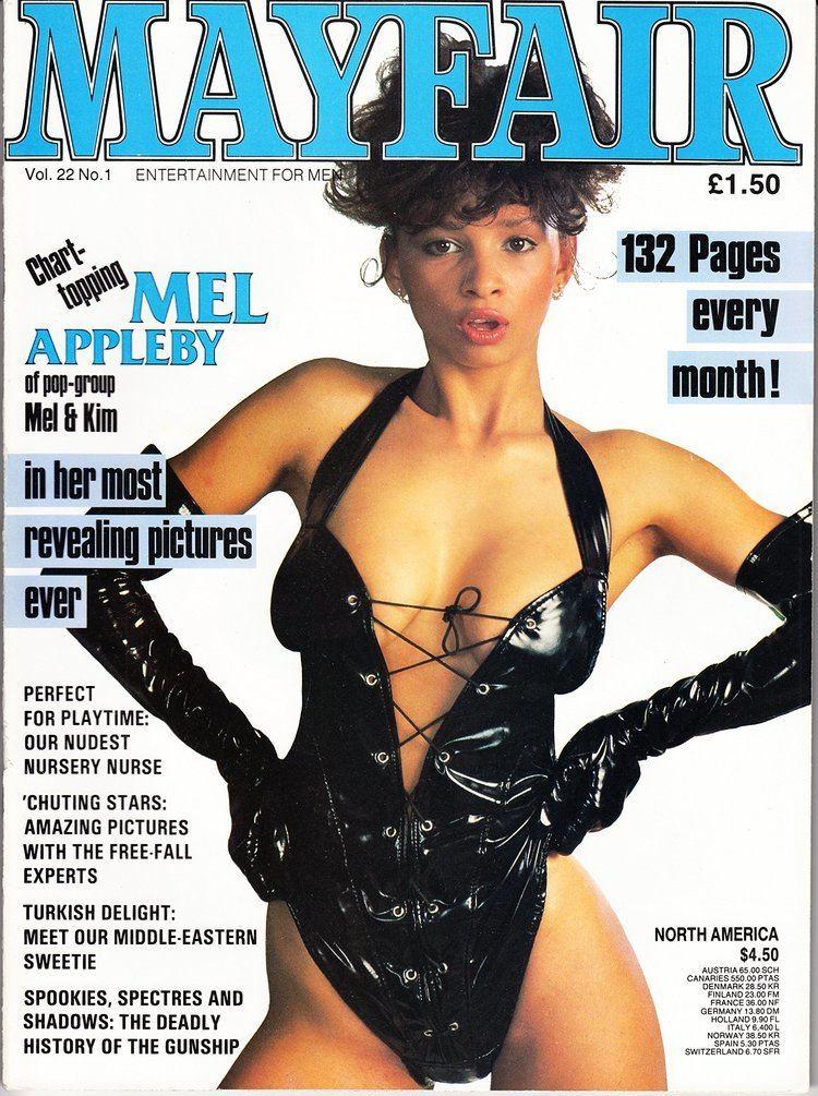 Melanie Appleby Mayfair Magazine Volume 22 Number 1 with Mel Appleby and