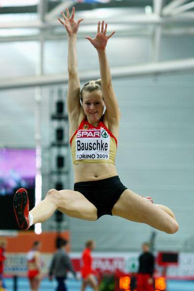 Melanie Bauschke Melanie Bauschke Photos European Athletics Indoor
