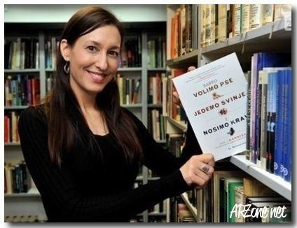 Melanie Joy De Nederlandse Vereniging voor Veganisme organiseert een