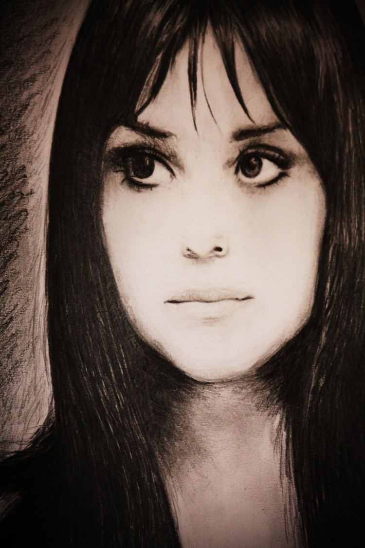 Melanie Safka Art By AF Painting and drawing with love