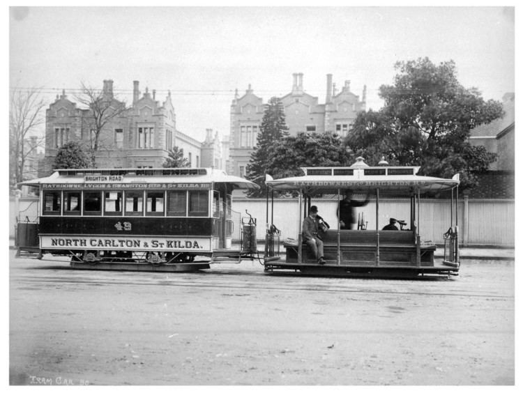 Melbourne cable tramway system