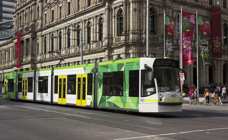 Melbourne tram route 19