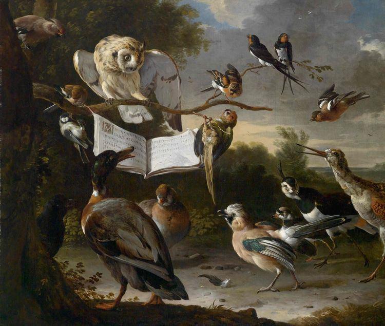 Melchior d'Hondecoeter Melchior de Hondecoeter 1636 1695 classic paintings Pinterest