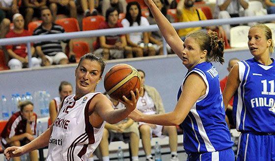Melek Bilge Melek Bilge EuroCup Women 2010 FIBA Europe