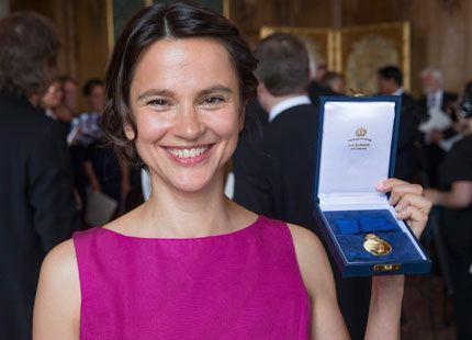 Melinda Kinnaman Melinda Kinnaman receives the Medal Litteris et