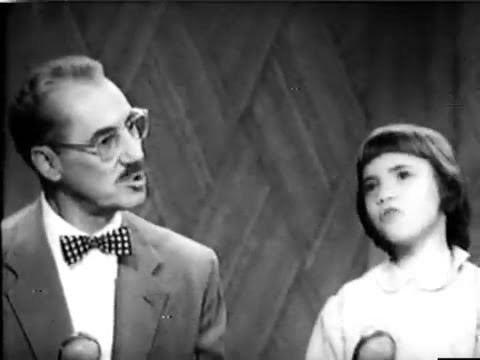 Melinda Marx You Bet Your Life 5418 Groucho Melinda Marx sing Gilbert