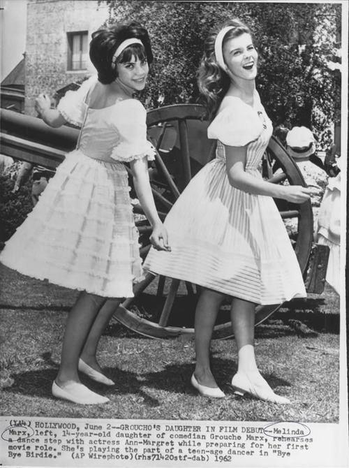 Melinda Marx AnnMargret And Grouchos Daughter Melinda Marx Bye Bye Birdie 1962