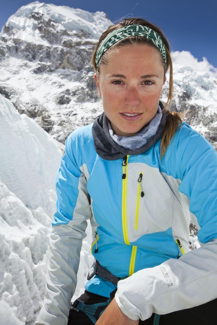 Melissa Arnot Everest in 50 Melissa Arnot