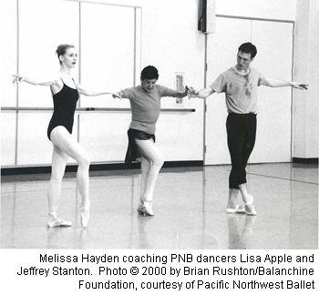 Melissa Hayden (dancer) criticaldance balletdance magazine A Tribute to Melissa