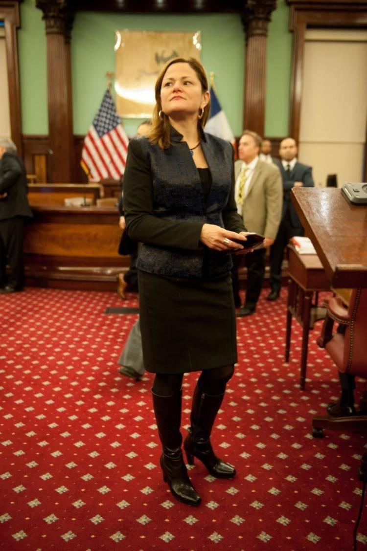 Melissa Mark-Viverito MarkViverito candidate for Council speaker has 15M in