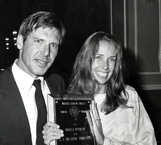 Melissa Mathison ET screenwriter and Harrison Ford39s exwife Melissa