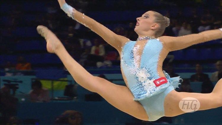 Melitina Staniouta Melitina Staniouta Ball Final World Championships Kiev
