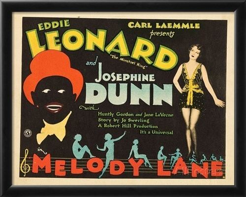 Melody Lane (1929 film) MELODY LANE lr Eddie Leonard Josephine Dunn on title card 1929