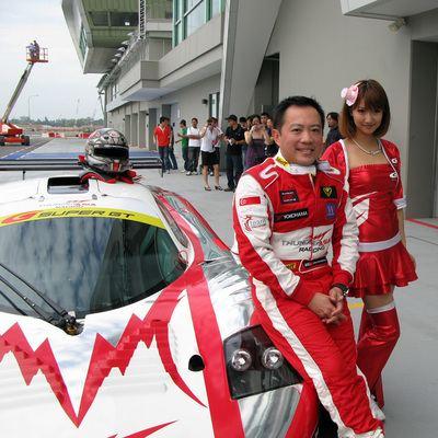 Melvin Choo Melvin Choo attempts 2009 Super GT Singapore Motoring News
