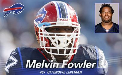 Melvin Fowler Buffalo Bills Melvin Fowler