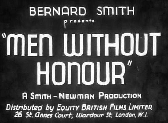 Men Without Honour Men Without Honour