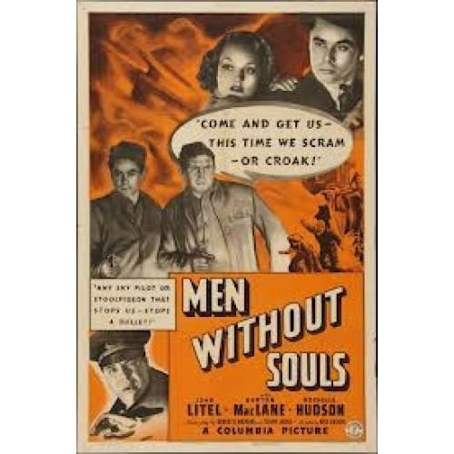 Men Without Souls MEN WITHOUT SOULS1940DVD for sale