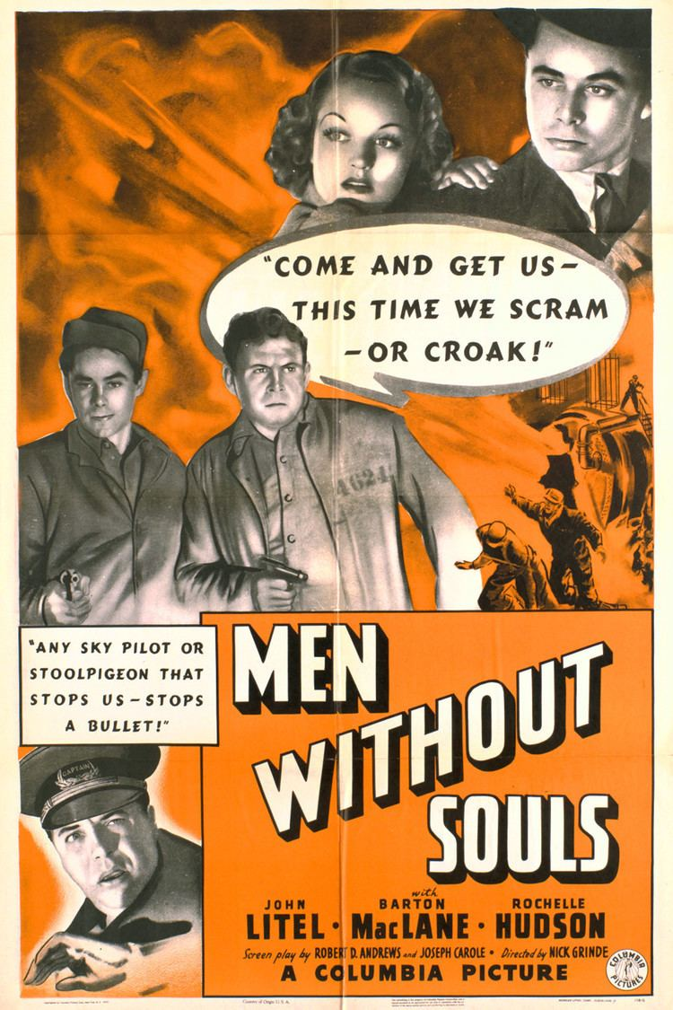 Men Without Souls wwwgstaticcomtvthumbmovieposters43858p43858