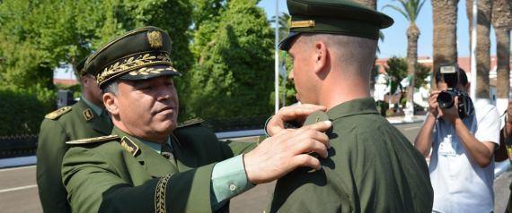 Menad Nouba Le gnralmajor Menad Nouba nouveau chef de la gendarmerie Ahmed