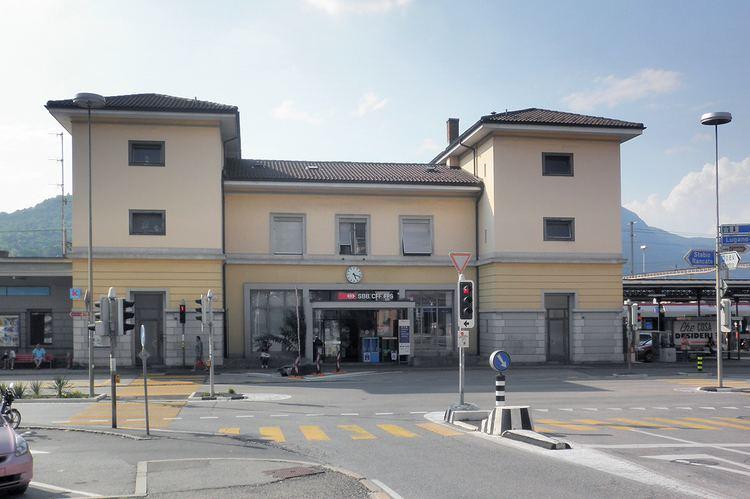 Mendrisio railway station