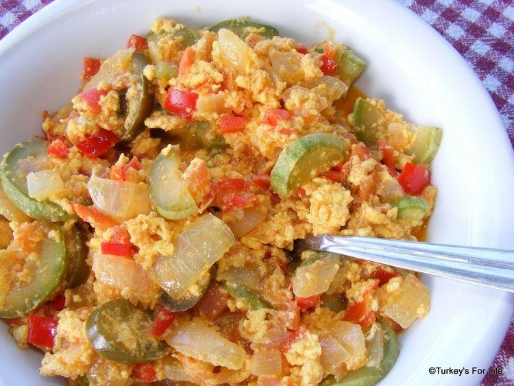 Menemen (food) Turkish Food Menemen Scrambled Egg n Veg Turkey39s For Life