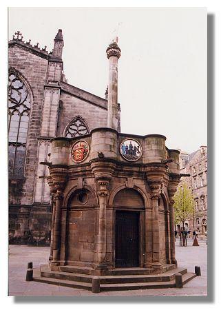 Mercat cross Edinburgh Photo Library Mercat Cross