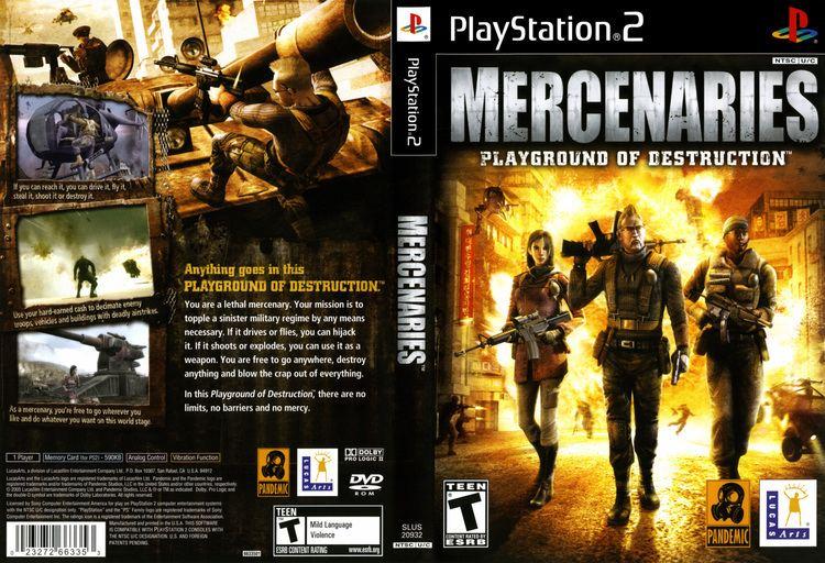 Mercenaries: Playground of Destruction wwwtheisozonecomimagescoverps2437jpg