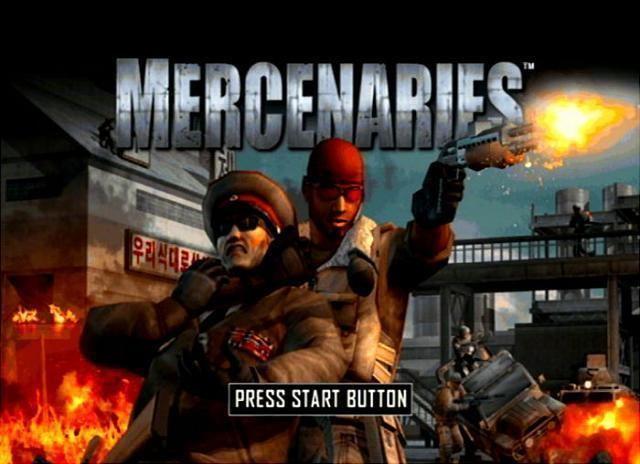 Mercenaries: Playground of Destruction Mercenaries Playground of Destruction USA ISO lt PS2 ISOs