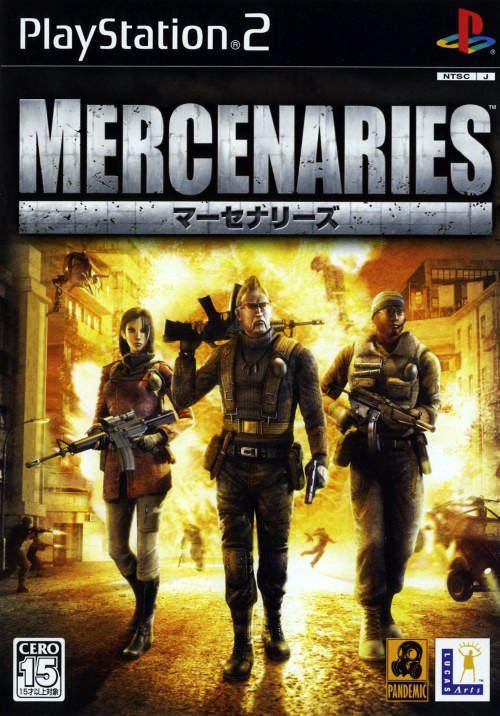 Mercenaries: Playground of Destruction Mercenaries Playground of Destruction Box Shot for PlayStation 2