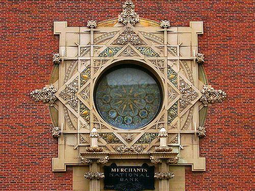 Merchants' National Bank Merchants National Bank View On Black Grinnell Iowa desig Flickr