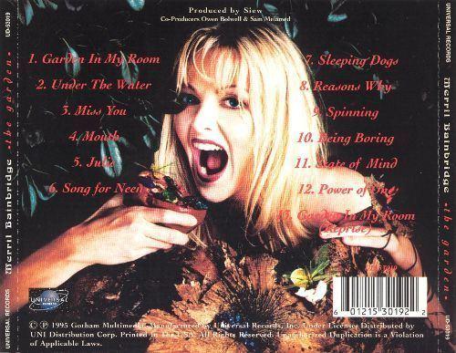 Merril Bainbridge The Garden Merril Bainbridge Songs Reviews Credits AllMusic