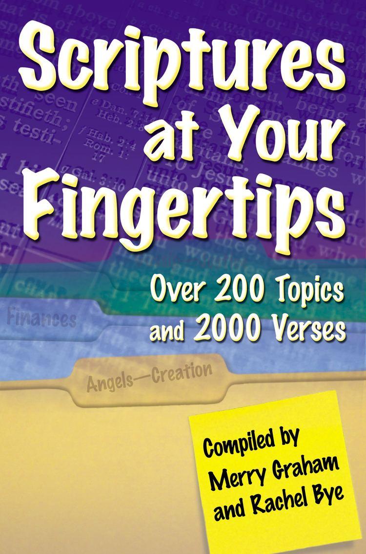 Merry Graham Scriptures at Your Fingertips Book by Merry Graham Rachel Bye