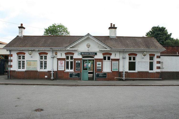 Merstham railway station