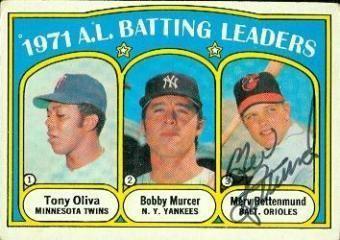 Merv Rettenmund Merv Rettenmund Topps Baseball Cards