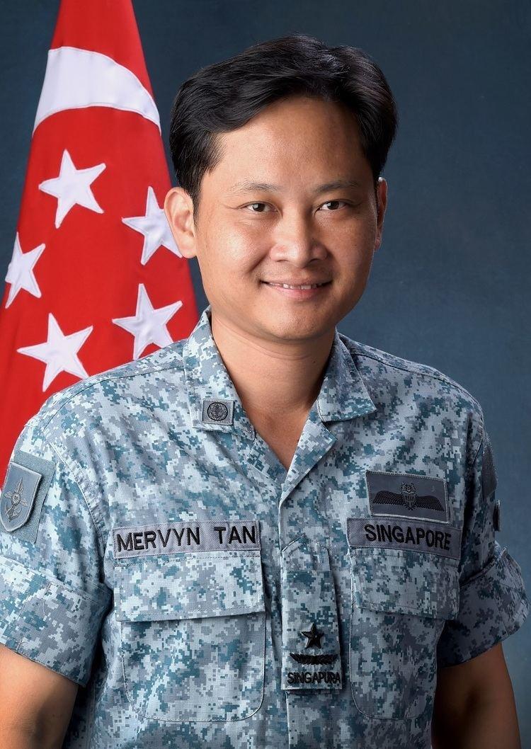 Mervyn Tan Change in Chief of Air Force