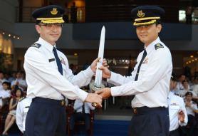 Mervyn Tan New commander takes over at ADOC
