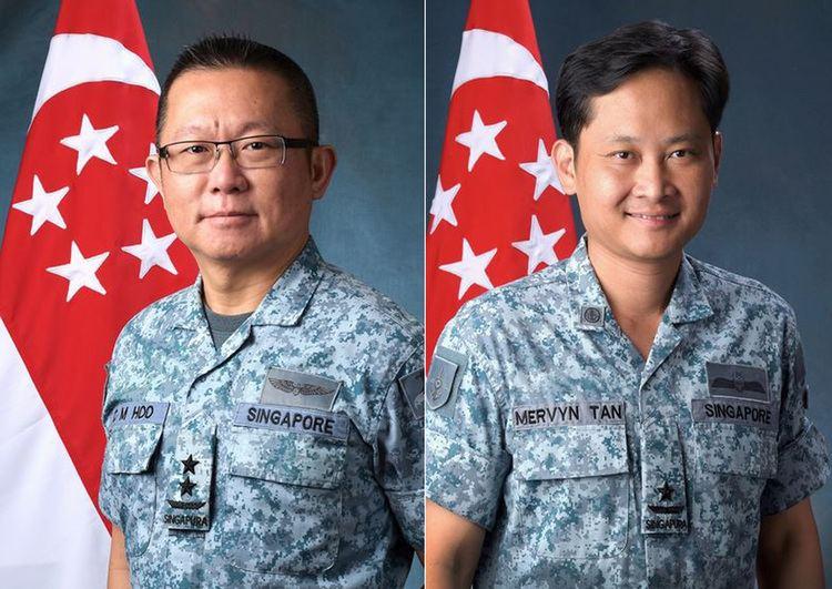 Mervyn Tan BrigadierGeneral Mervyn Tan to take over as Chief of Air Force