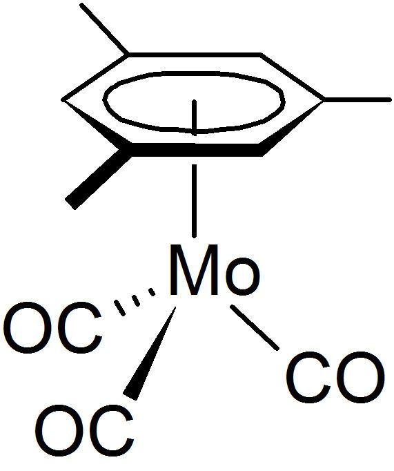 (Mesitylene)molybdenum tricarbonyl httpsuploadwikimediaorgwikipediacommons77