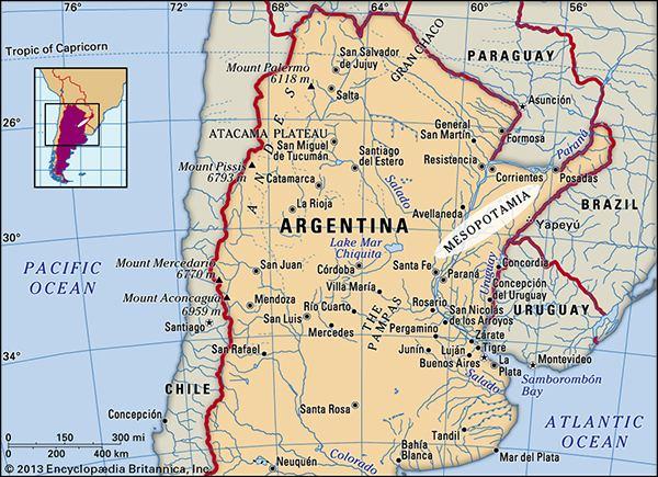Mesopotamia, Argentina Mesopotamia region Argentina Britannicacom