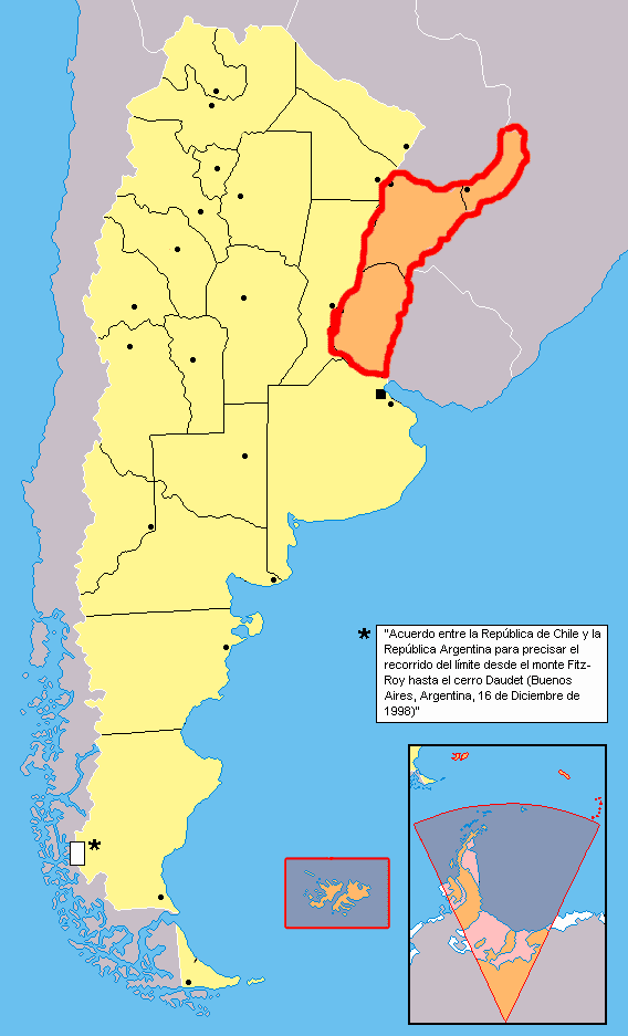 Mesopotamia, Argentina Mesopotamia Argentina Mapsofnet